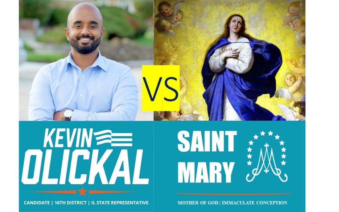 Catholic Church is Host to a Pro-Abortion Candidate on the Feast of the Immaculate Conception