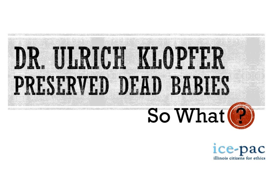 He Preserved Over 2,000 Dead Babies. So What?